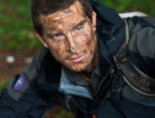 Bear Grylls Gives Support