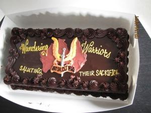 Wandering Warriors Cake