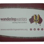 Wandering Warriors Mouse mat