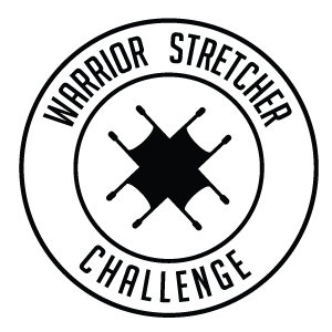 Warrior Stretcher Challenge logo for Wandering Warriors