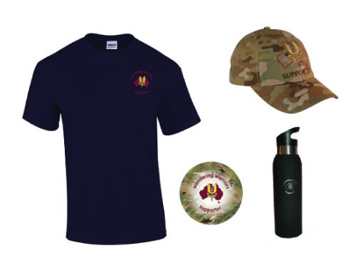 WIN WANDERING WARRIORS MERCHANDISE FOR FATHERS DAY