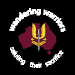 Wandering Warriors Logo Inverted