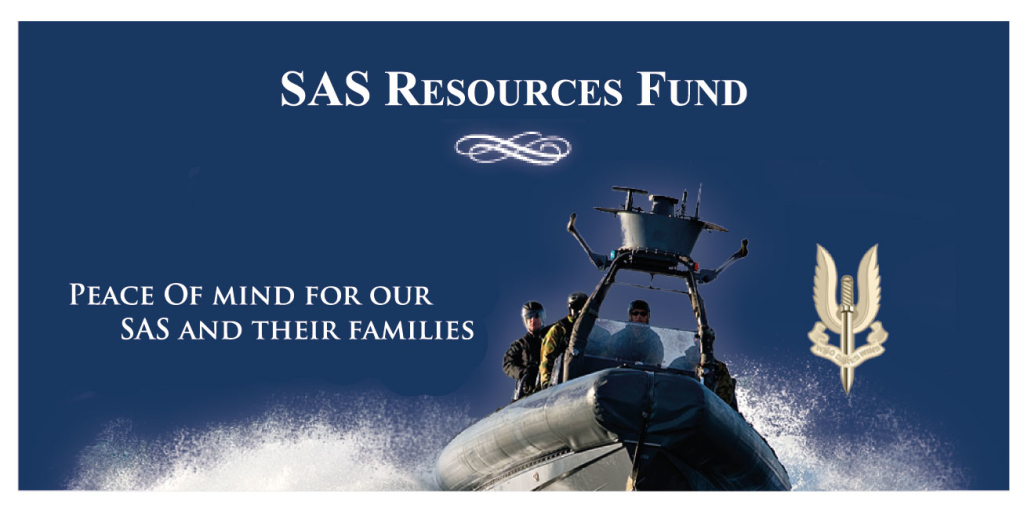 The Special Air Service Resources Trust is a perpetual trust fund which provides relief to current and former members of the Special Air Service Regiment and their dependants, who become deceased or permanently disabled in or as a result of active service or operational training.