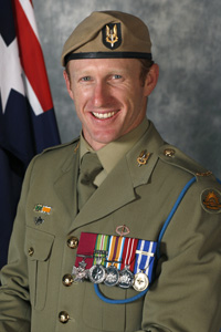 Mark Donaldson VC Gives Support