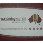 Wandering Warriors Mouse mat