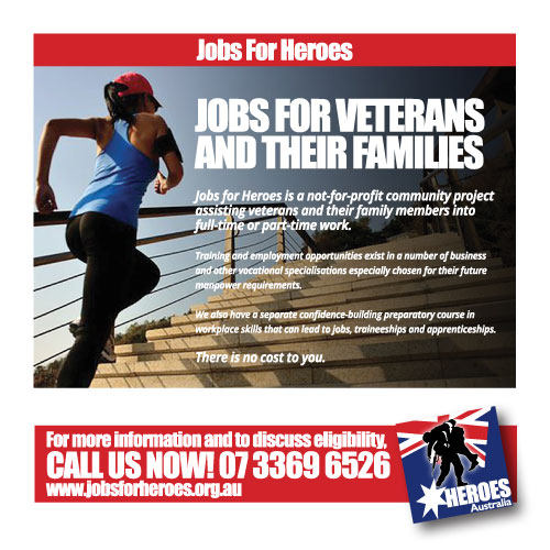 Jobs for heroes